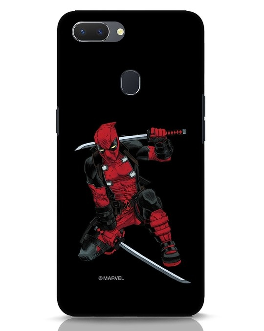 Shop Deadpool In Action Realme 2 Mobile Cover (AVL)-Front
