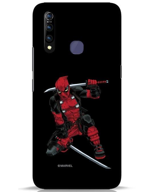 Shop Deadpool In Action Vivo Z1 Pro Mobile Cover (AVL)-Front