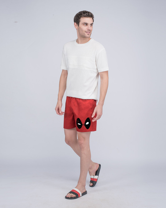 Shop Deadpool Look Side Printed Boxer (DPL)-Full