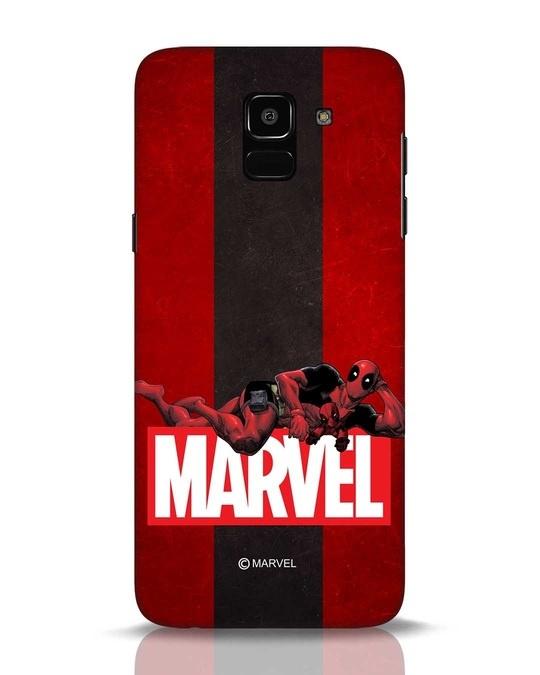 Shop Deadpool Marvel Samsung Galaxy J6 Mobile Cover (DPL)-Front