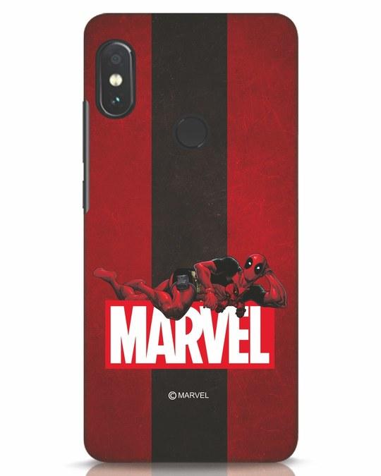 Shop Deadpool Marvel Xiaomi Redmi Note 5 Pro Mobile Cover (DPL)-Front