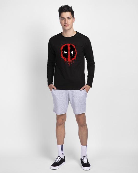 Shop Deadpool Splash Full Sleeve T-Shirt (DPL)-Design