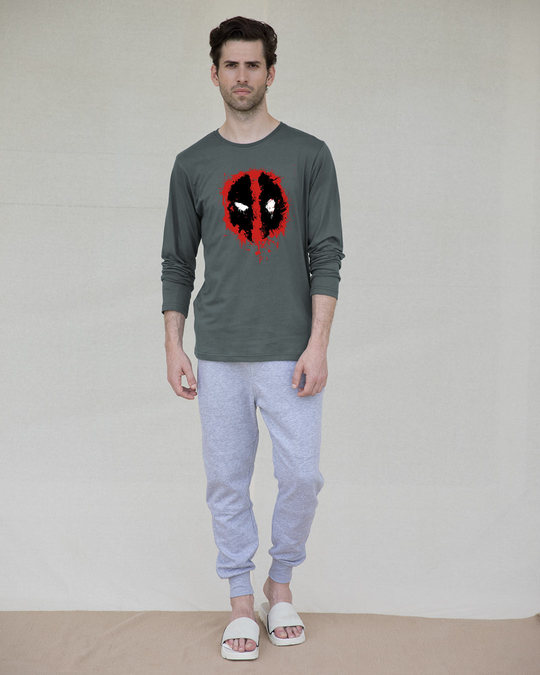 Shop Deadpool Splash Full Sleeve T-Shirt (DPL)-Full