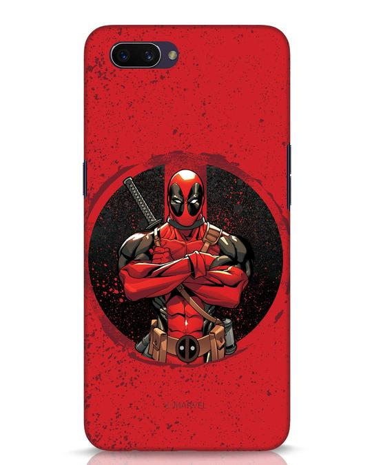 Shop Deadpool Splatter Oppo A3S Mobile Cover (DPL)-Front