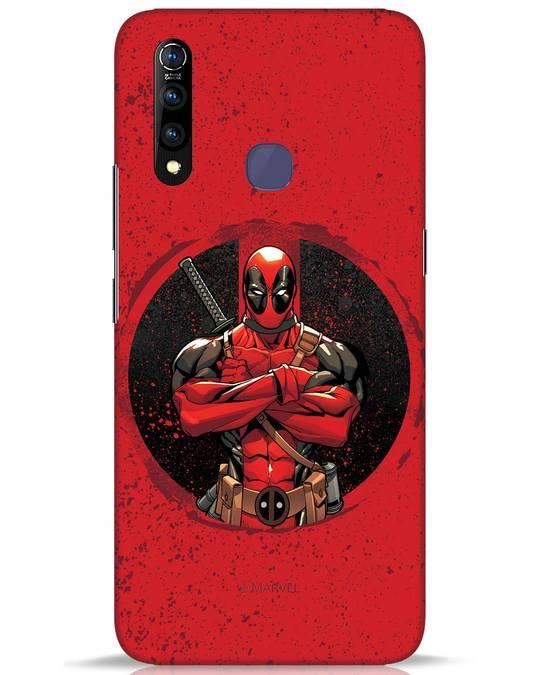 Shop Deadpool Splatter Vivo Z1 Pro Mobile Cover (DPL)-Front