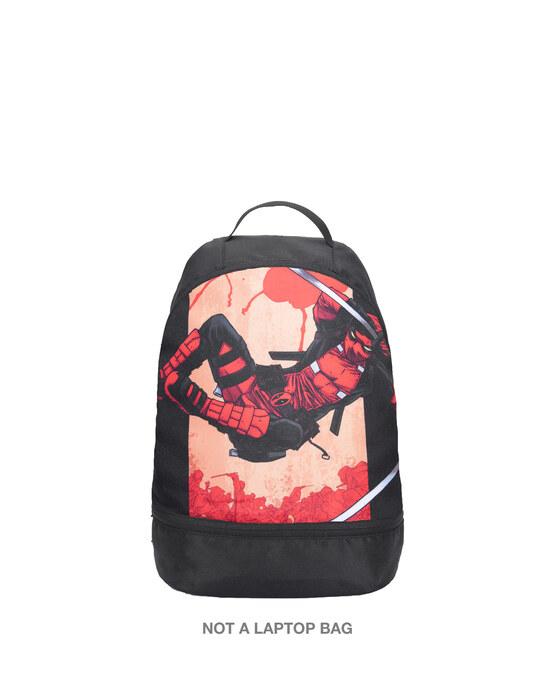 Shop Deadpool Swording Printed Small Backpack (DPL)-Front