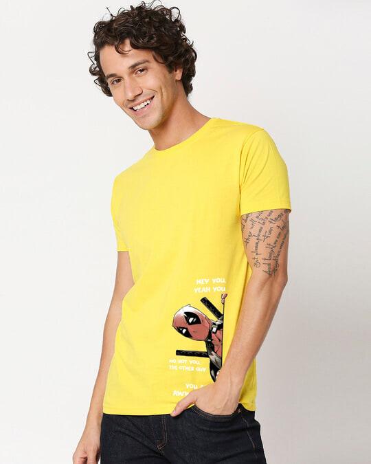 Shop Deadpool Half Sleeve T-Shirt-Back