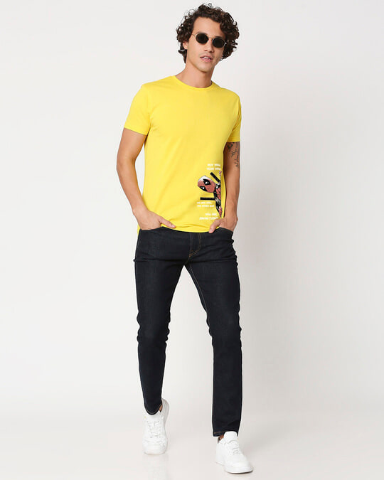 Shop Deadpool Half Sleeve T-Shirt-Full