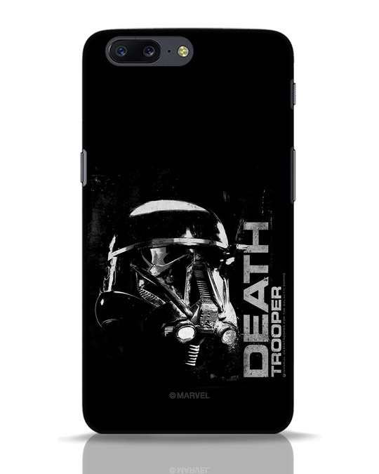 Shop Death Trooper OnePlus 5 Mobile Cover (SWL)-Front