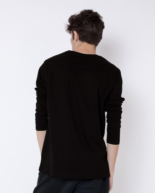 Shop Deathly Hallows Full Sleeve T-Shirt (HPL) (GID)-Back