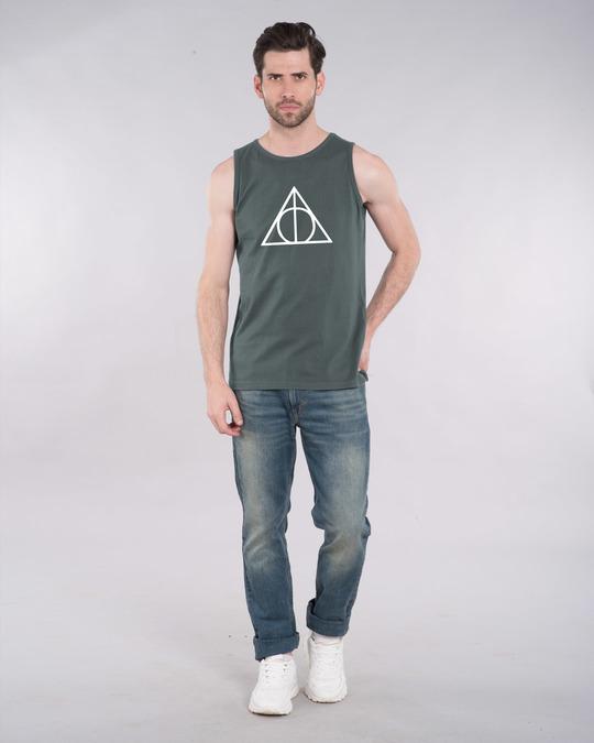 Shop Deathly Hallows Vest (HPL) (GID)-Full