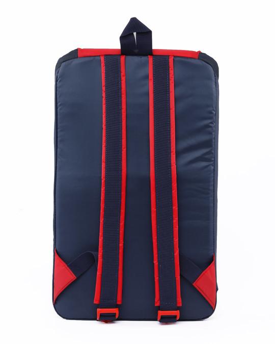 Shop Deep Blue - Racer Red Mini Backpack-Full