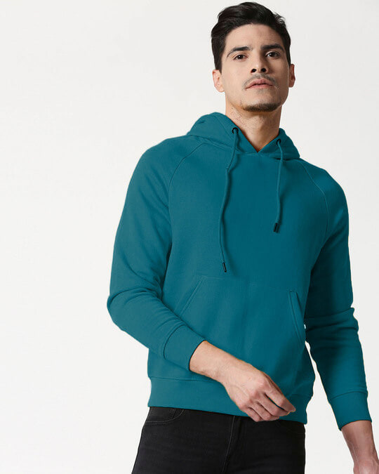 Shop Deep Lake Basic Hoodie Sweatshirt-Front
