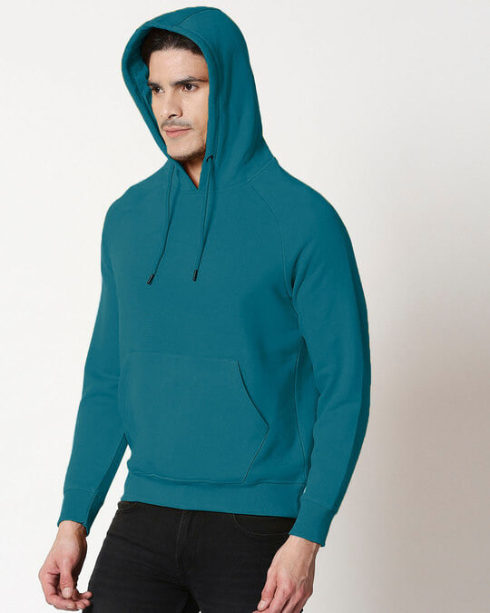 Shop Deep Lake Basic Hoodie Sweatshirt-Full