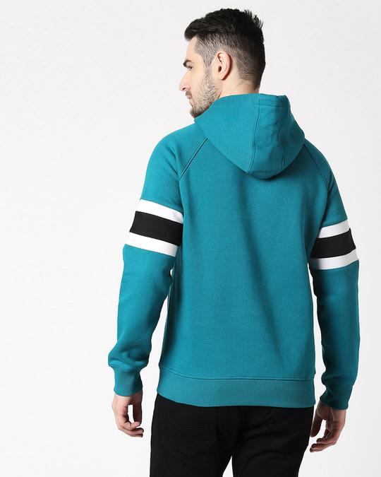 Shop Deep Lake Sports Trim Hoodie Sweatshirt-Full