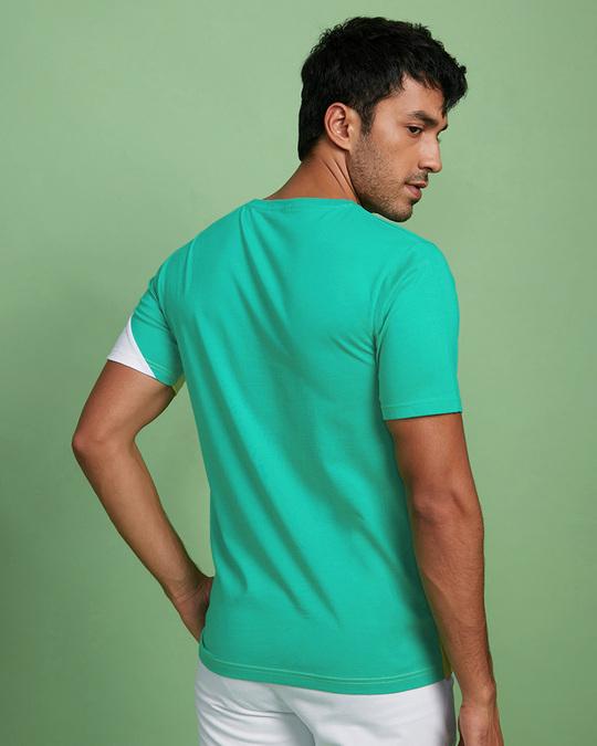 Shop Bubble Gum Three Panel Color Block T-Shirt-Design