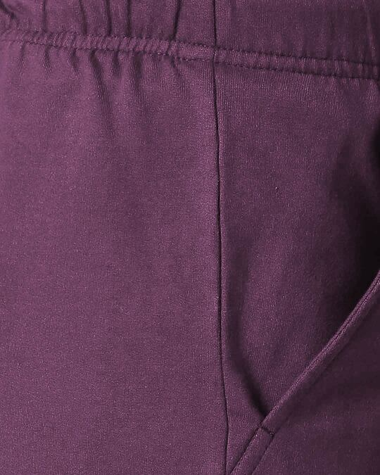 Shop Deep Purple Men's Casual Shorts