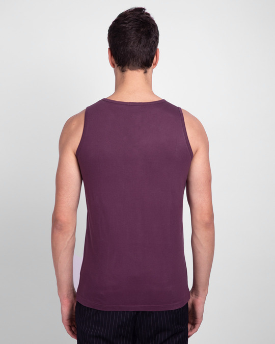 Shop Deep Purple Vest-Full
