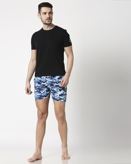 Shop Deep Sea Camo Men's Printed Boxers