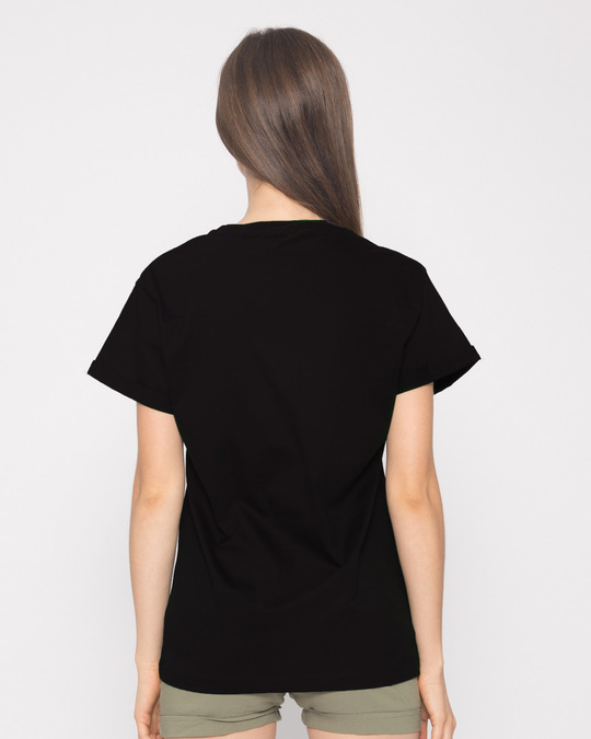 Shop Dekho Magar Pyaar Se Boyfriend T-Shirt-Full