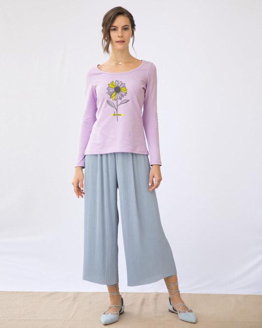 Shop Demure Scoop Neck T-Shirt-Design