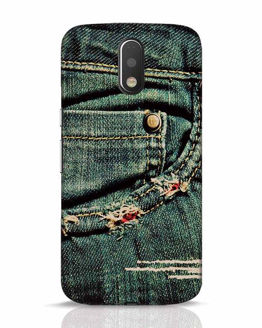 Shop Denims Moto G4 Plus Mobile Cover-Front