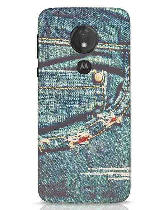 Shop Denims Moto G7 Power Mobile Cover-Front