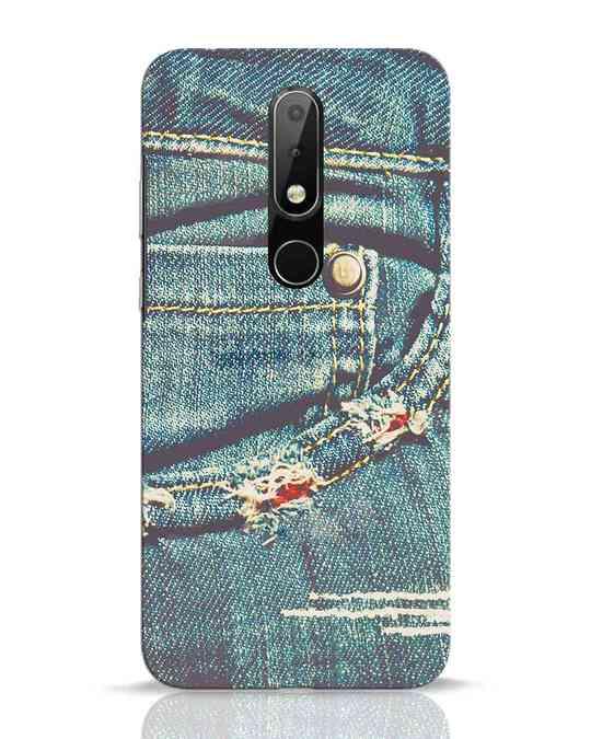 Shop Denims Nokia 6.1 Plus Mobile Cover-Front