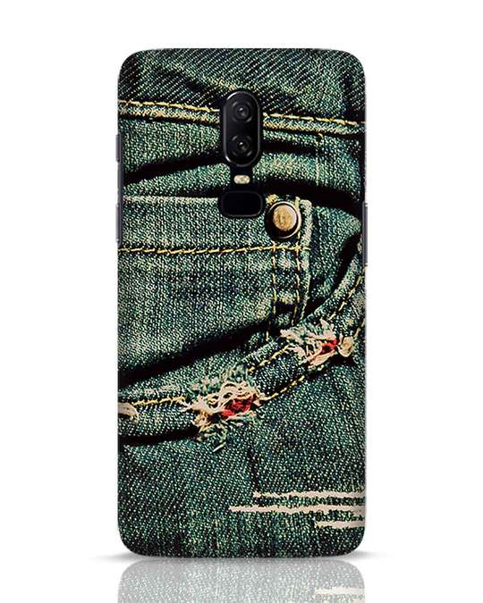 Shop Denims OnePlus 6 Mobile Cover-Front