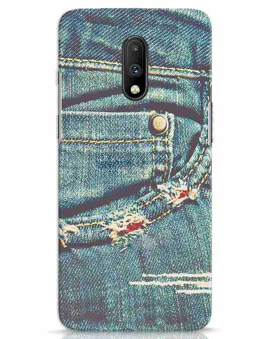 Shop Denims OnePlus 7 Mobile Cover-Front