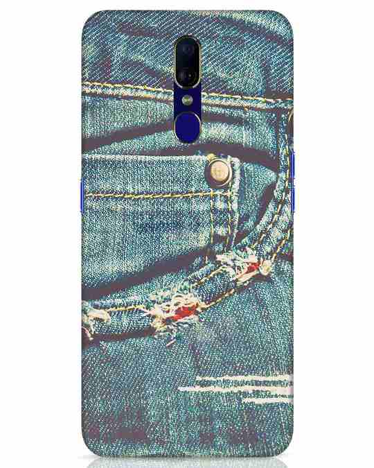 Shop Denims Oppo F11 Mobile Cover-Front