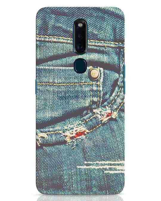 Shop Denims Oppo F11 Pro Mobile Cover-Front