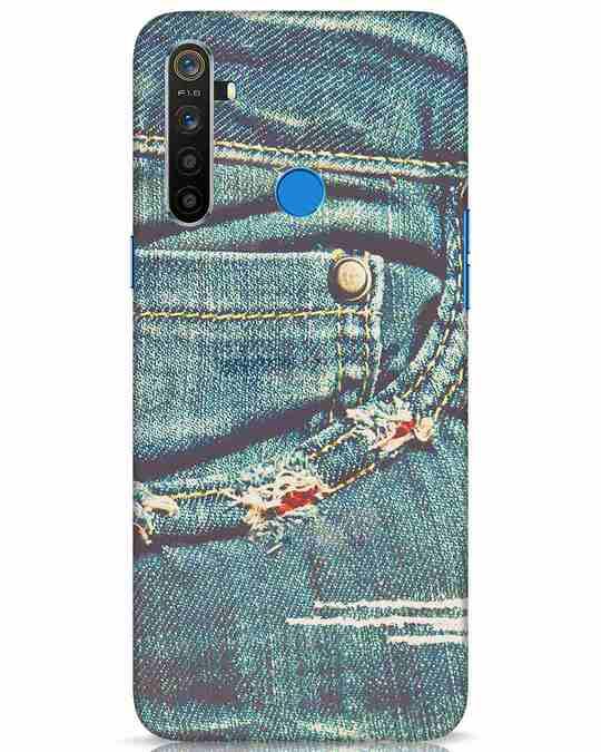 Shop Denims Realme 5 Mobile Cover-Front