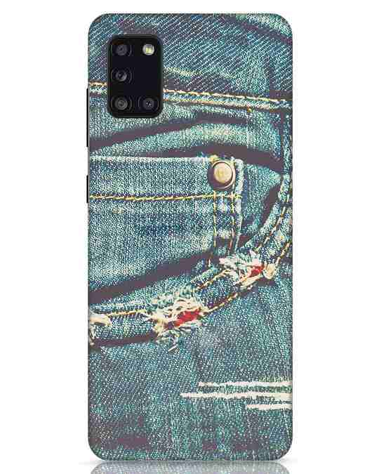 Shop Denims Samsung Galaxy A31 Mobile Cover-Front
