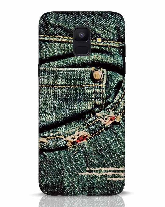 Shop Denims Samsung Galaxy A6 2018 Mobile Cover-Front
