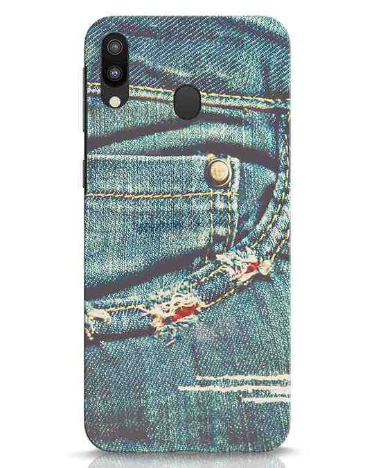 Shop Denims Samsung Galaxy M20 Mobile Cover-Front