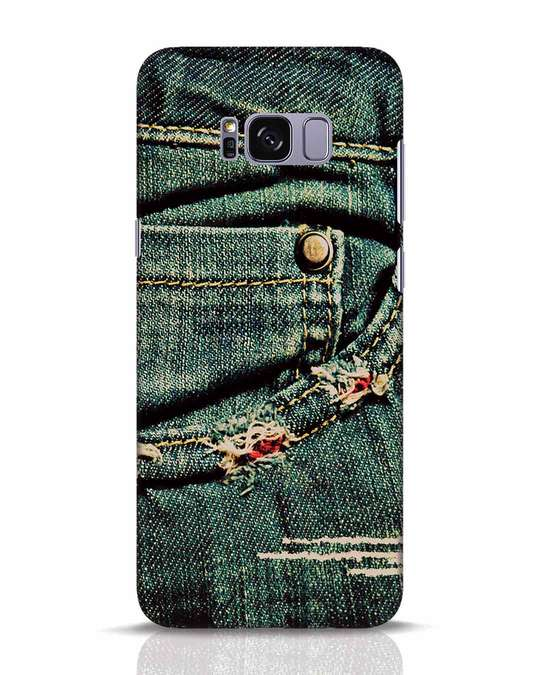 Shop Denims Samsung Galaxy S8 Plus Mobile Cover-Front