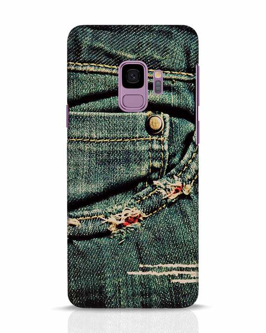 Shop Denims Samsung Galaxy S9 Mobile Cover-Front