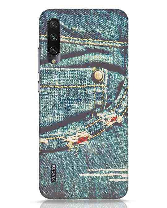 Shop Denims Xiaomi Mi A3 Mobile Cover-Front