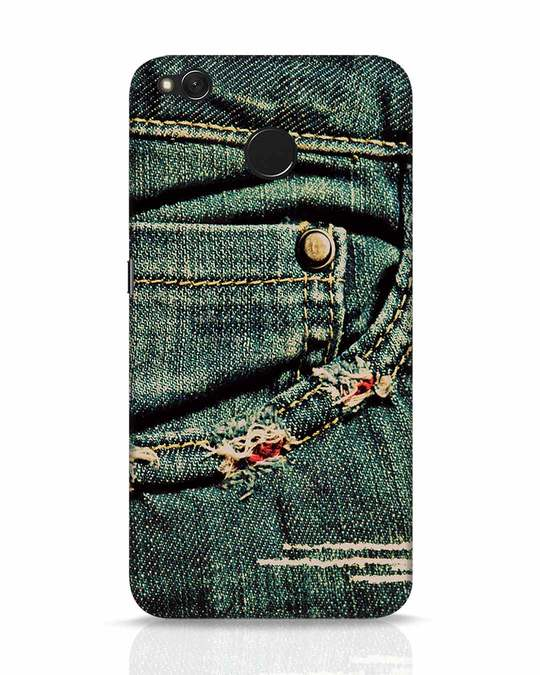 Shop Denims Xiaomi Redmi 4 Mobile Cover-Front