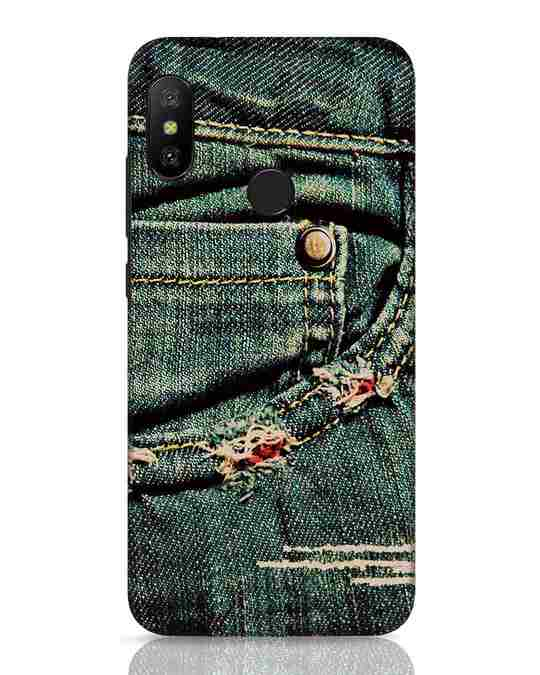 Shop Denims Xiaomi Redmi 6 Pro Mobile Cover-Front