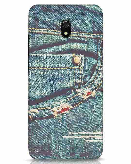Shop Denims Xiaomi Redmi 8A Mobile Cover-Front