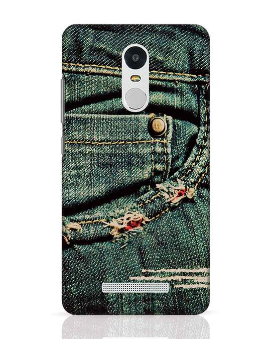 Shop Denims Xiaomi Redmi Note 3 Mobile Cover-Front