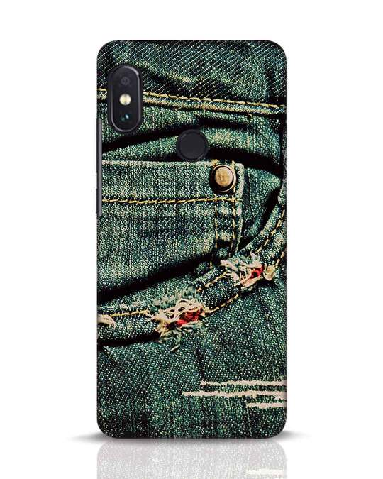Shop Denims Xiaomi Redmi Note 5 Pro Mobile Cover-Front