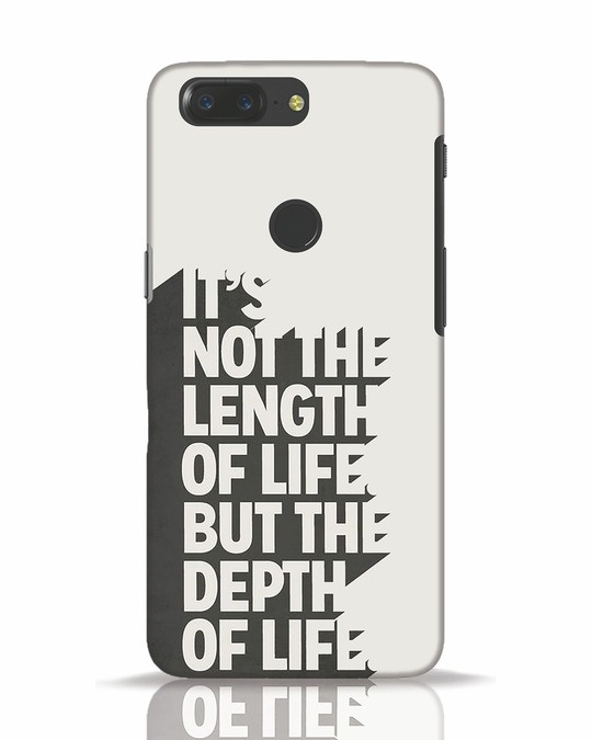 Shop Depth Of Life OnePlus 5T Mobile Cover-Front