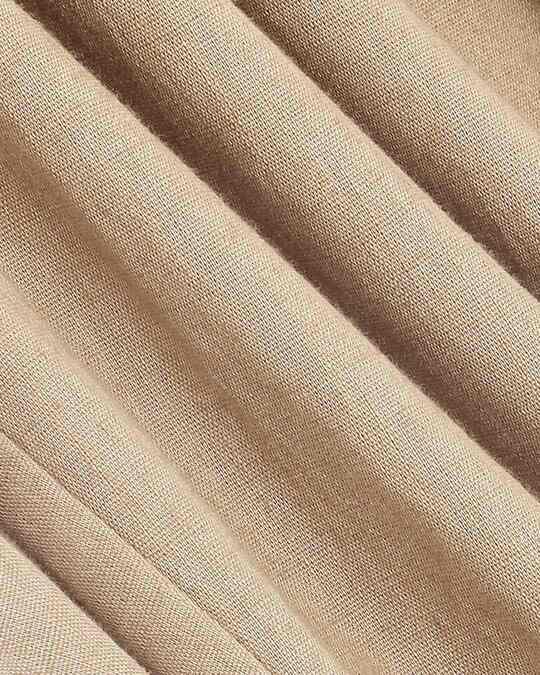 Shop Desert Beige Casual Cotton Pants