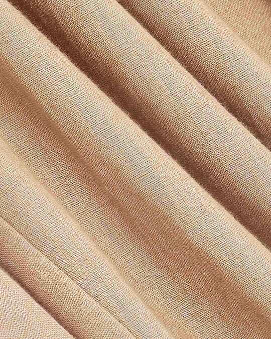 Shop Desert Beige Casual Cotton Trouser