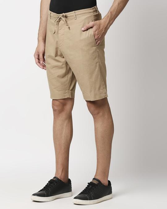 Shop Desert Beige Comfort Shorts-Design