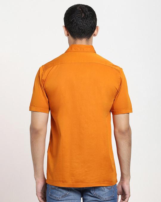 Shop Desert Sun Half Sleeve Solid Shirt-Design