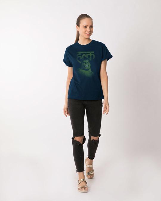 Shop Desi Hulk Boyfriend T-Shirt (AVL)